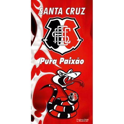 Toalha de Banho Times de Futebol - Buettner - Linha Licenciados - Santa Cruz