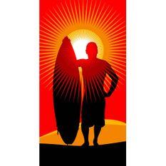 Toalha-de-Praia-Buettner-Linha-Beach-Collection-Exportacao-Estampa-Surfer