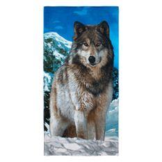 Toalha-de-Praia-Buettner-Linha-Beach-Collection-Exportacao-Estampa-Wolf-Hunter