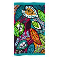 Toalha-de-Praia-Buettner-Linha-Luxury-Beach-Towels-Estampa-Trend-Leaves