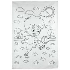 Kit-Toalha-Infantil-para-Colorir-Buettner-3-a-6-anos-Estampa-Futebol-é-Arte