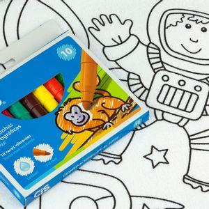 Kit-Toalha-Infantil-para-Colorir-Buettner-6-a-8-anos-Estampa-Astronauta