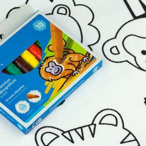 Kit-Toalha-Infantil-para-Colorir-Buettner-6-a-8-anos-Estampa-Letras-e-Animais