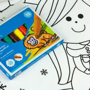 Kit-Toalha-Infantil-para-Colorir-Buettner-3-a-6-anos-Estampa-Reino-Encantado
