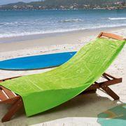 Toalha-de-Praia-Veludo-com-Desenho-em-Alto-e-Baixo-Relevo-Lufamar-Linha-New-Summer-Aloha-Verde-Limao