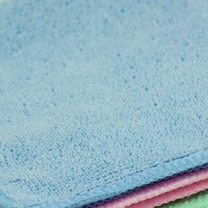 Kit-com-3-Toalhas-Multiuso-em-Microfibra-30cm-x-30cm-Azul-Rosa-e-Verde-Detalhe
