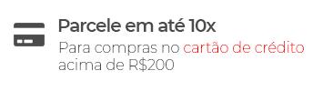 Parcele em até 10x para compras no cartão de crédito acima de R$200 - Loja Buettner | Aproveite!