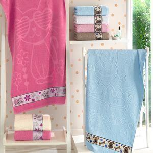 toalha-de-banho-infantil-lufamar-dog-puppies-baby-blue-vitrine