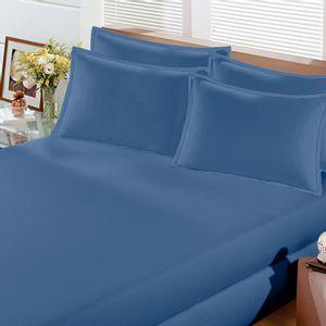 lencol-com-elastico-e-fronhas-casal-queen-size-avulso-malha-penteada-algodao-buettner-image-cor-azul-marinho-vitrine