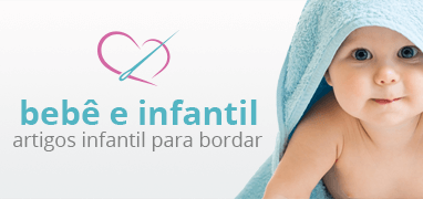 Departamento Bebê e Infantil, Artigos Infantis para Bordar | Clube de Bordar | Confira!