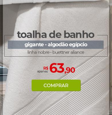 Toalha de Banho Gigante Algodão Egípcio Buettner Aliance | Apenas R$ 63,90 | Loja Buettner | Comprar!