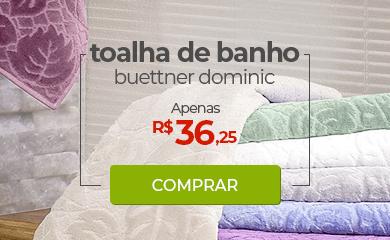 Toalha de Banho Buettner Dominic | Apenas R$36,25 | Loja Buettner | Comprar!