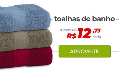 Toalhas de Banho a partir de R$ 12,73 cada | Loja Buettner | Aproveite!