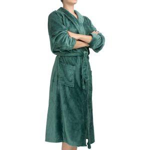 roupao-feminino-flannel-com-manga-tamanho-P-atlantica-sofisticata-premium-verde-esmeralda-principal