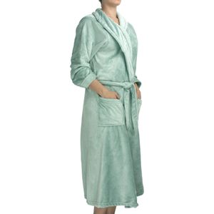 roupao-feminino-flannel-com-manga-tamanho-P-atlantica-sofisticata-premium-agua-marinho-detalhe