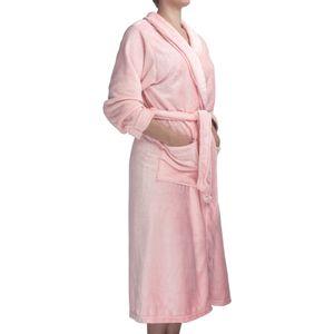roupao-feminino-flannel-com-manga-tamanho-M-atlantica-sofisticata-premium-ouro-rosa-detalhe