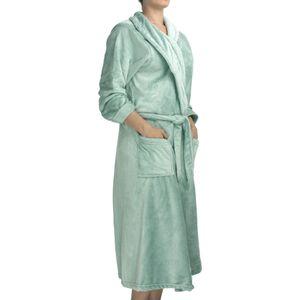 roupao-feminino-flannel-com-manga-tamanho-M-atlantica-sofisticata-premium-agua-marinho-detalhe