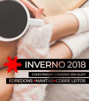 Inverno 2018 - Edredons, Mantas e Cobre Leitos | Loja Buettner | Ver Ofertas!