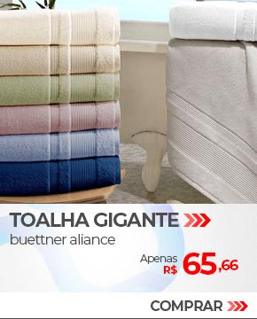 Toalha de Banho Gigante em Algodão Egípcio Buettner Aliance | Apenas R$ 65,66 | Loja Buettner | Compre Agora!
