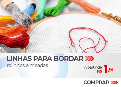 Linhas para Bordar, rolinhos e meadas | A partir de R$1,91 | Loja Buettner | Compre Agora!