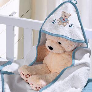 toalha-com-capuz-para-bebe-de-plush-felpudo-bordada-com-vies-teddy-azul-buettner-baby-vitrine