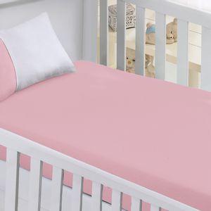 lencol-avulso-para-berco-infantil-com-elastico-em-algodao-buettner-baby-cor-rosa-vitrine