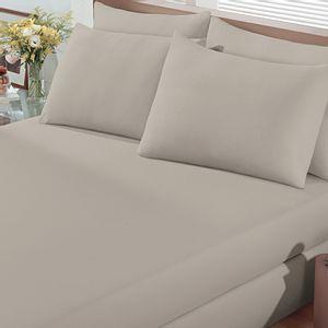 lencol-com-elastico-solteiro-avulso-malha-penteada-algodao-buettner-basic-Cor-Bege