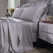 jogo-de-cama-king-size-180-fios-com-renda-e-dobra-feita-bouton-leliz-Cor-Cinza