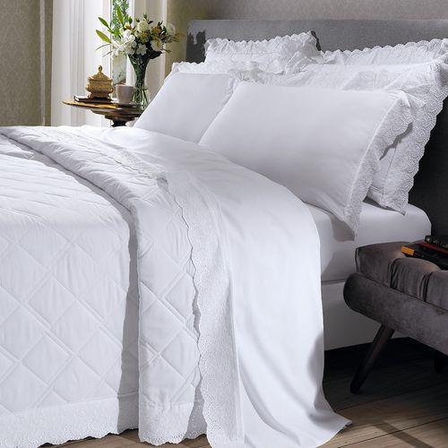 cobre-leito-queen-size-180-fios-e-2-porta-travesseiros-com-renda-bouton-dely-Cor-Branco