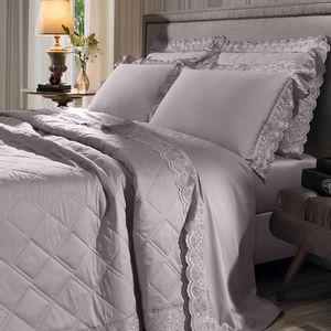 cobre-leito-queen-size-180-fios-e-2-porta-travesseiros-com-renda-bouton-jaqui-Cor-Bege