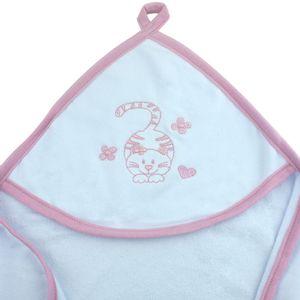 toalha-com-capuz-para-bebe-de-plush-felpudo-bordada-com-vies-cat-rosa-buettner-baby-detalhe