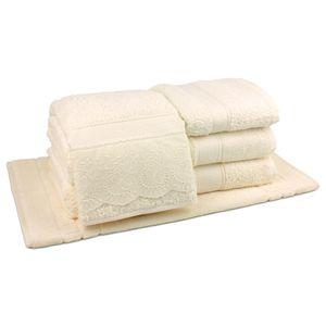 jogo-de-toalhas-5-pecas-em-algodao-500-gramas-por-metro-quadradoe-aplicacao-de-renda-bouton-dely-perola-principal