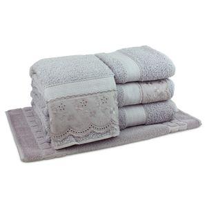 jogo-de-toalhas-5-pecas-em-algodao-500-gramas-por-metro-quadradoe-aplicacao-de-renda-bouton-jaqui-cinza-principal