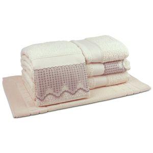 jogo-de-toalhas-5-pecas-em-algodao-500-gramas-por-metro-quadradoe-aplicacao-de-renda-bouton-leliz-perola-principal