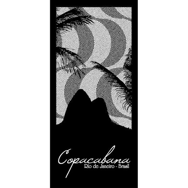 06ce5fb30dc2 Toalha de Praia 100% Algodão 70x150cm Buettner Estampa Copacabana ...