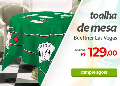 Toalha de Mesa Buettner Las Vegas | Apenas R$129,00 | Loja Buettner | Compre Agora!