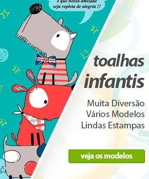 Toalhas Infantis - Muita diversão, vários modelos, lindas estampas| Loja Buettner | Compre Agora!