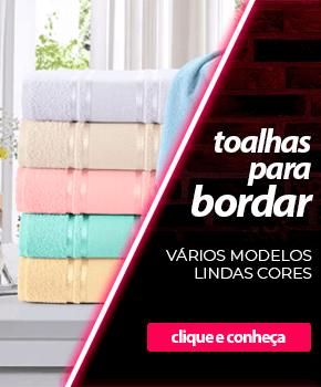 Toalhas para Bordar - Vários modelos, lindas cores | Loja Buettner | Compre Agora!