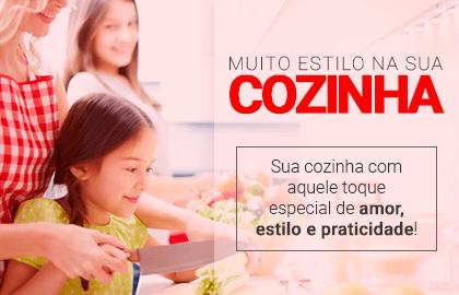 Muito estilo na sua COZINHA! Sua cozinha com aquele toque especial de amor, estilo e praticidade! | Loja Buettner | Confira!