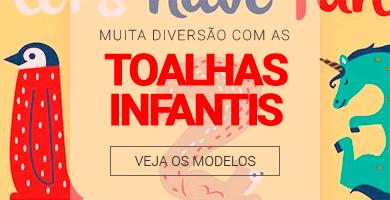 Muita diversão com as Toalhas Infantis >> Loja Buettner | Veja os Modelos!
