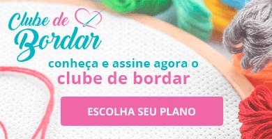 Conheça e assine agora o Clube de Bordar >> Loja Buettner | Conheça os Planos!