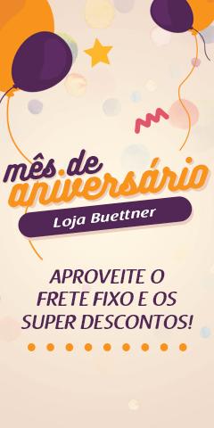 Mês de Aniversário Loja Buettner. Super Descontos durante todo o mês de Março!  >> Loja Buettner | Aproveite!