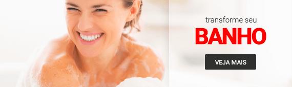 Transforme seu Banho >> Departamento Banho Loja Buettner | Veja Mais!