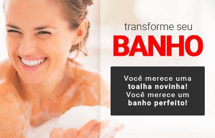 Transforme seu BANHO! Você merece uma toalha novinha! Você merece um banho perfeito! >> Loja Buettner | Confira!