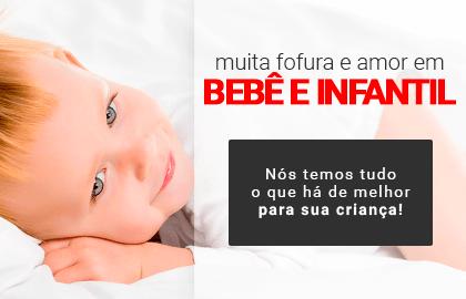 Muita fofura e amor em BEBÊ E INFANTIL! Nós temos tudo o que há de melhor para seu pequeno! >> Loja Buettner | Confira!