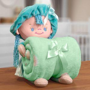 kit-manta-infantil-100x75cm-em-microfibra-com-boneco-bouton-baby-puppy-verde-agua-vitrine