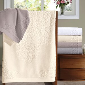 jogo-de-toalhas-5-pecas-em-algodao-460gr-bouton-francis-cor-branco-e-prata-vitrine