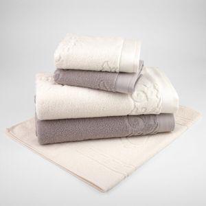 jogo-de-toalhas-5-pecas-em-algodao-460gr-bouton-francis-cor-bege-e-perola-principal