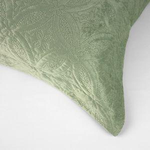 colcha-microfibra-queen-size-em-matelasse-sem-costura-com-dois-porta-travesseiros-buettner-lotus-verde-detalhe