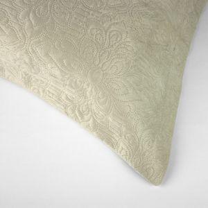 colcha-microfibra-king-size-em-matelasse-sem-costura-com-dois-porta-travesseiros-buettner-enos-palha-detalhe